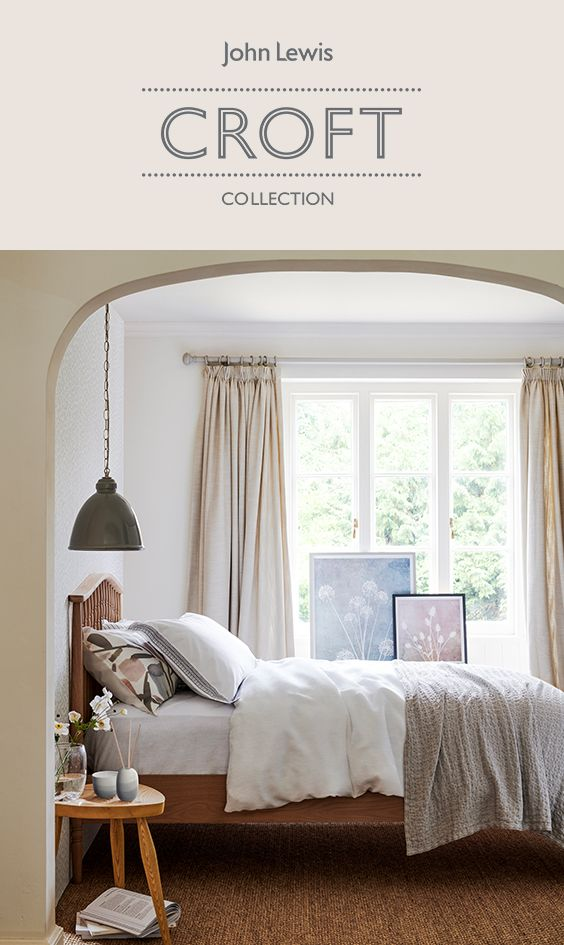 With beautiful and tranquil neutral tones, the Croft Collection is perfect for both early nights and late mornings