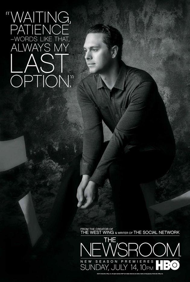 GRAPHIC DESIGN – POSTER – the newsroom season 2 poster.