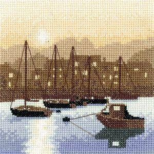 """Harbour Lights"" Cross Stitch Kit"