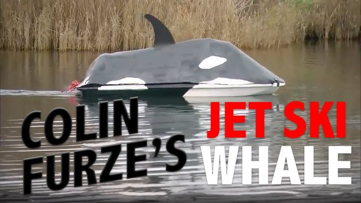 Colin Furze's Jet Ski Whale