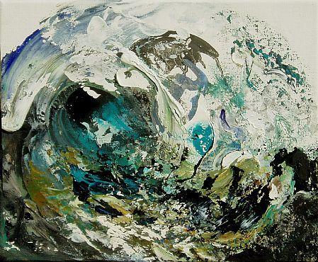maggi hambling   Maggi Hambling - 'Summer Wave Breaking I' - DAVID CASE FINE ART