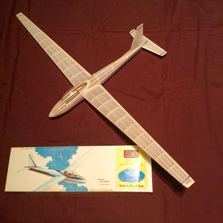 Model Glider Kit Model Kits Model Airplanes Rc Glider