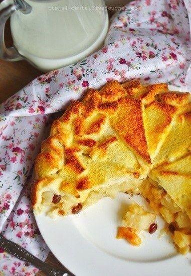 Фото к рецепту: Французская яблочная шарлотка от Джулии Чайлд