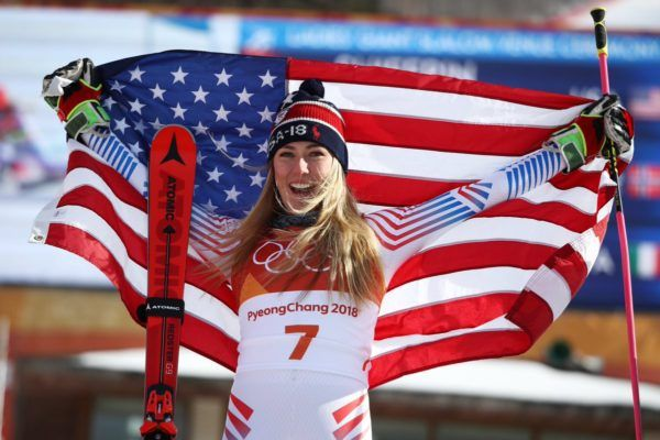 The 22-year-old American used a hard-charging final run to win the giant slalom Thursday for her second career Olympic title....