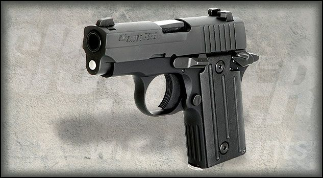 Best small handgun for concealed carry: Sig P238
