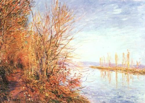 Sisley :: Galeria de pinturas :: História da Arte :: Aula de Arte