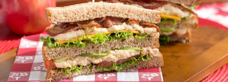 You'll need both hands to enjoy these hearty sandwiches that are filled with good for you ingredients!