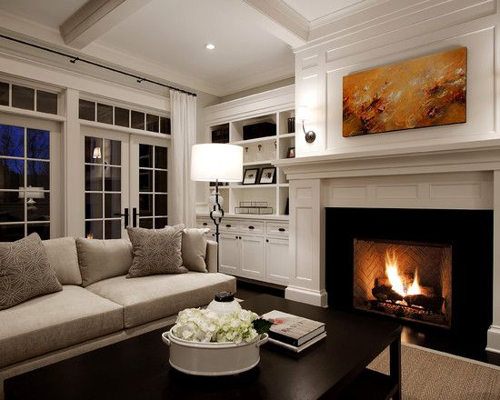17 Best Ideas About Fireplace Between Windows On Pinterest Stone Fireplace