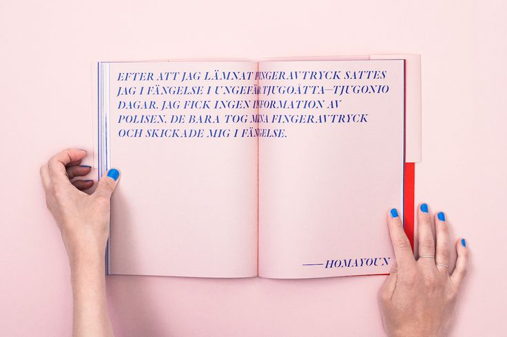"<p>""To Sweden Through Dublin"" is a book designed by Gothenburg-based Studio Ahremark and a critique of Dublin Regulation. The politically-engaged publication features exceptionally sleek a"