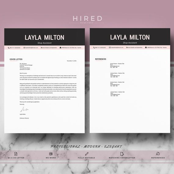 The 83 best Modern, Professional  Elegant Resume Templates images - modern resumes
