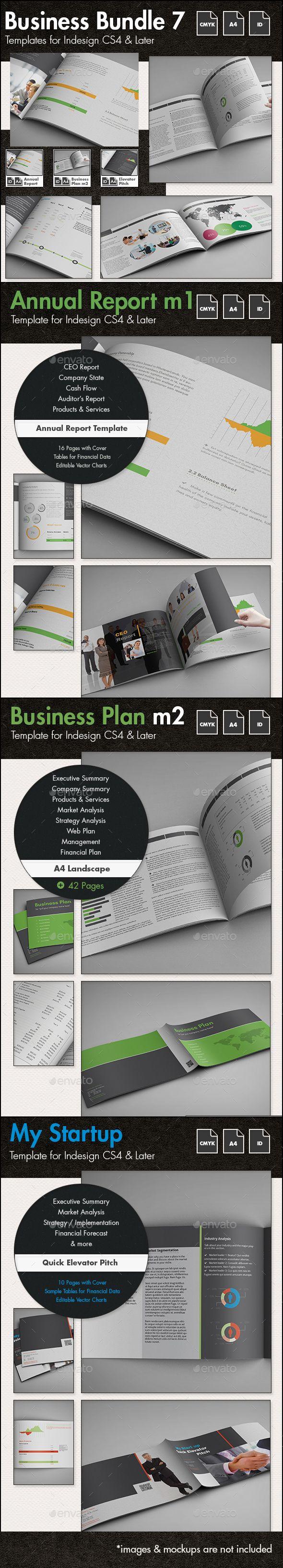 Business Templates Bundle 7 - A4 Landscape