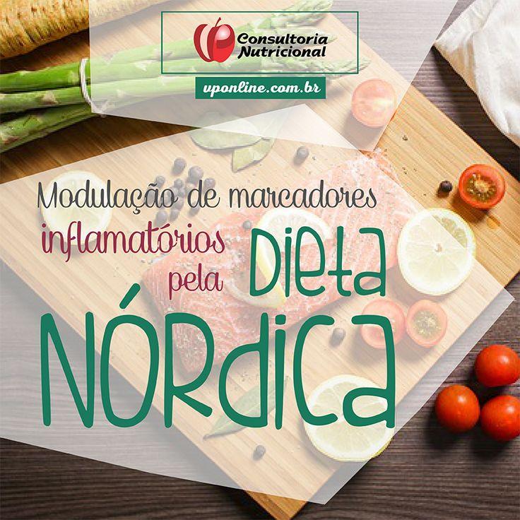 Nutrição e Qualidade de Vida: Mudança de marcadores inflamatórios pela dieta nór...
