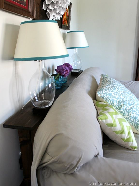 behind the sofa table   *** I like this for a bed