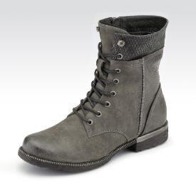 Rieker Stiefelette für nur 74,99€ (14.12.15) in Farbe grau jetzt bei gebrüder götz online kaufen!