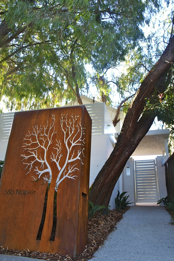 Tree shaped letterbox