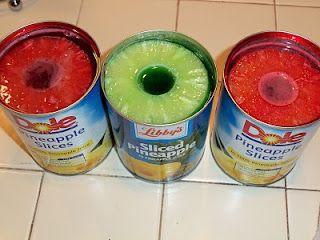 Pineapple Jell-O Rings