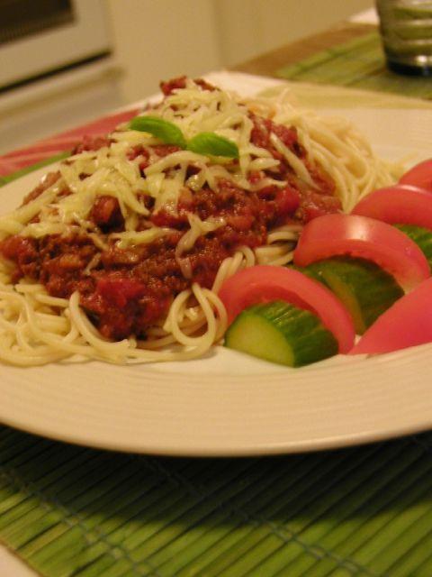 Spagetti ja soijakastike