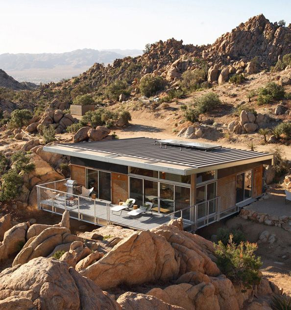 Minimalist Home Design In Mountain California - pictures, photos, images