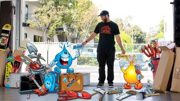 World Industries skateboard brand characters to front new youth-oriented skate brand