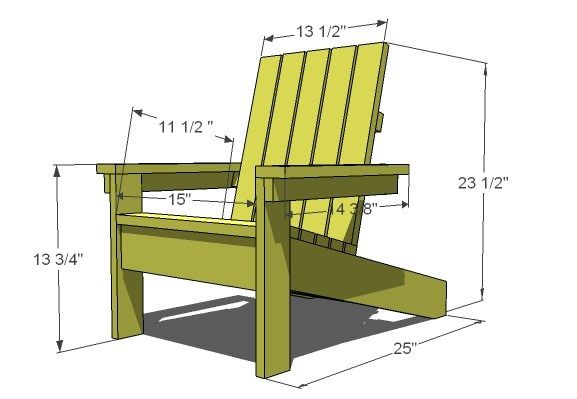 Pdf Plans Diy Adirondack Chair Pattern Download Blueprints For