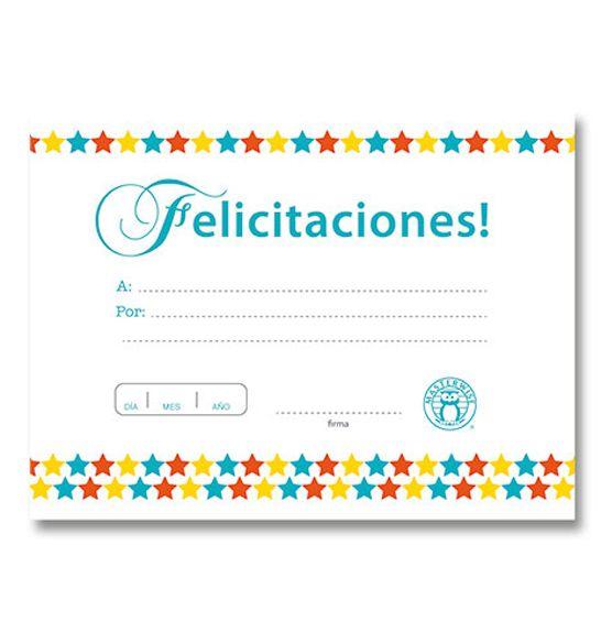 Diploma Felicitaciones 1 -> http://www.masterwise.cl/productos/36-reforzamiento-positivo/1883-diploma-felicitaciones-1