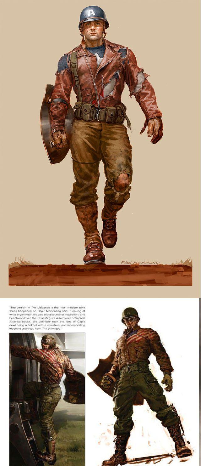 Artes de Ryan Meinerding para a Marvel Studios - Isso não é foto, é pintura digital 8-O