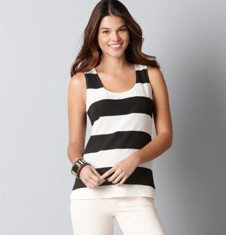 Stripes: Simple Stripes, Wide Strips, Summer Style, Stripes Shells, Woman Clothing, Wide Stripes, Stripes Obsession, Black White Stripes, Classic Blackwhit