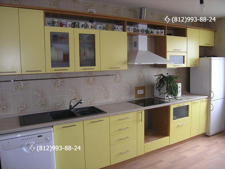 Кухни желтого цвета под заказ, желтая кухня на заказ, мебель и гарнитуры для кухни желтые. Желтый цвет в дизайне и интерьере кухонной мебели на заказ, фотографии и картинки кухонь в желтых тонах и оттенках. Производство кухонь Шарм-мебель. Звоните: (812)993-88-24