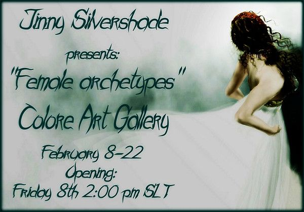 Gioelececed (Jinny Silvershade) Exhibiton at Colore