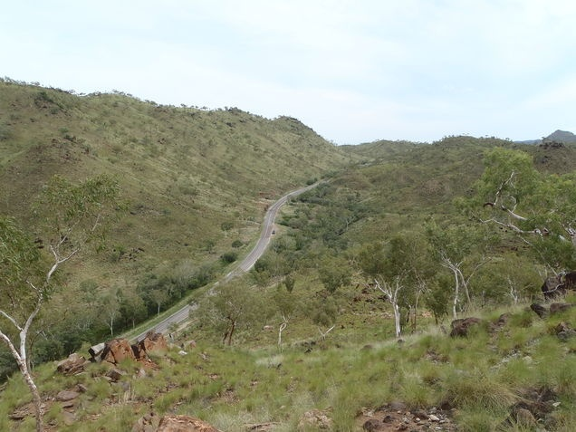 On the road from Halls Creek
