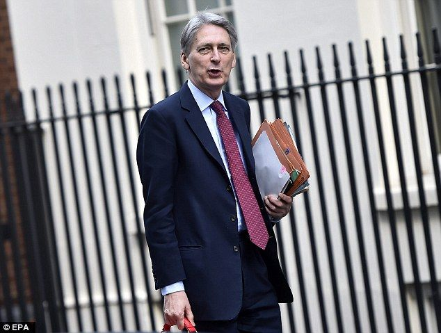 Chancellor of the Exchequer, Philip Hammond, keeps his pets Rex and Oscar, a Daschund, at his home in Number 11 Downing Street