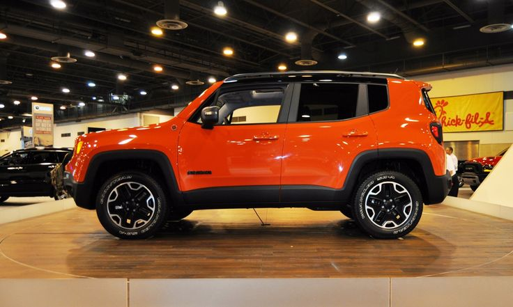 Jeep Renegade Trailhawk For Sale >> Houston Auto Show – 2015 Jeep Renegade Inside and Out in ...
