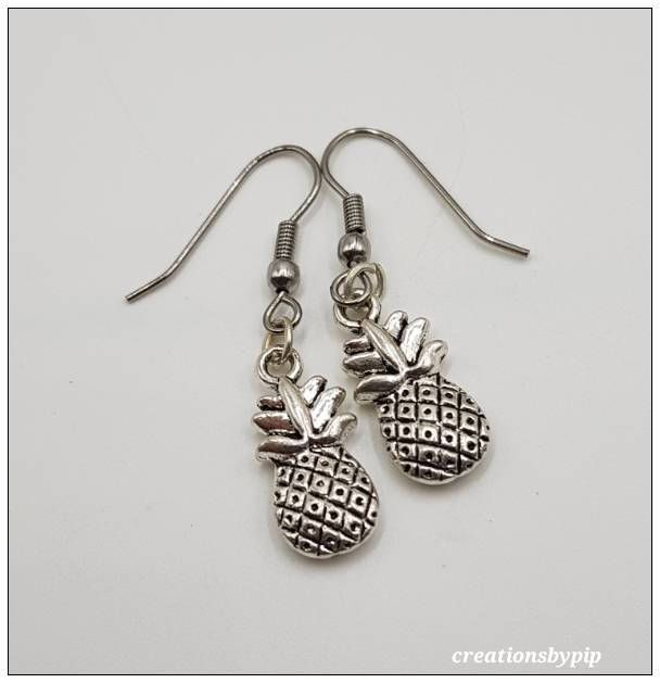 Excited to share the latest addition to my #etsy shop: Pineapple Earrings, Pineapple Jewelry, Nickel Free Earrings, Gift for Mum, Birthday Gift, Bridesmaid Gift, Dangel Earrings, Jewelry #earrings #pineapple http://etsy.me/2F2PLEm