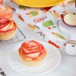 Tartaletki z jabłkowymi różami