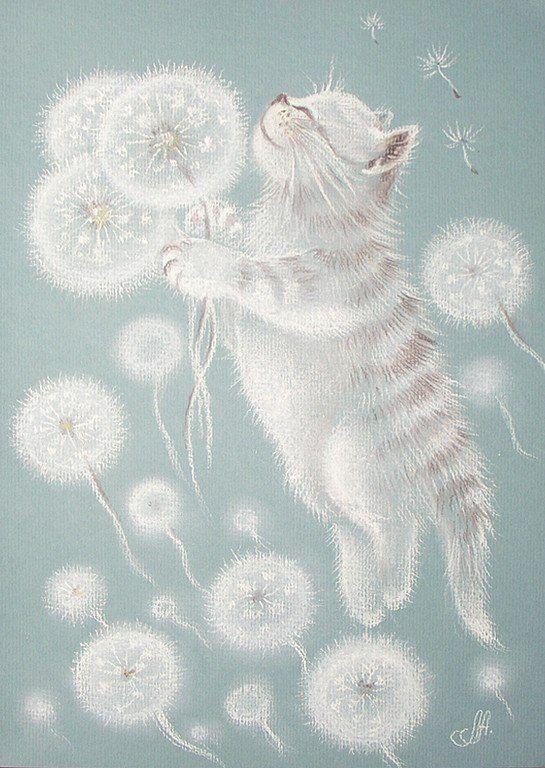 светлые картины пастелью - Логинова Аннет