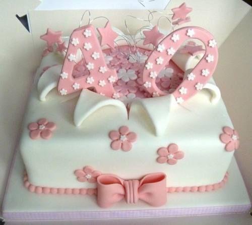 tortas para cumpleaños de mujeres de 40 años