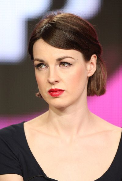 Jessica Raine attending the Winter 2013 TCA Tour in the US promoting Call The Midwife