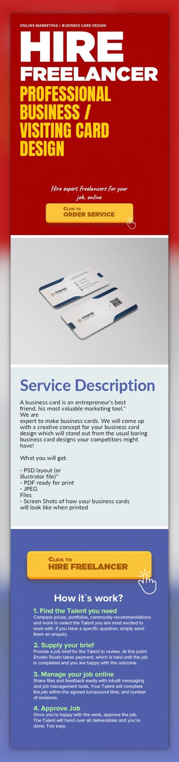 Best 25+ Visiting card design online ideas on Pinterest | Business ...
