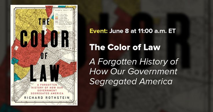 On Thursday, June 8th the Economic Policy Institute and the Poverty & Race Research Action Council present Richard Rothstein as he discusses his new book, The Color of Law: A Forgotten History of How Our Government Segregated America. Ted Shaw of the University of North Carolina at Chapel Hill School of Law and Rep. Gwen …