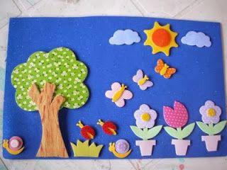 13 periódicos murales de marzo y primavera ~ Educación Preescolar