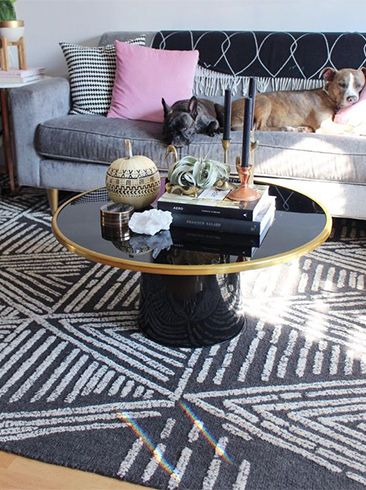 See how three stylish Instagrammers made the Nate Berkus round coffee table their own.