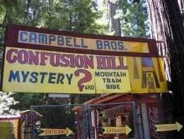Hwy 101 - Kitschy Roadside Tourist Attractions in the California Redwoods