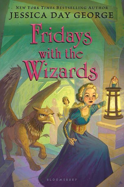 Fridays with the Wizards by Jessica Day George.  Fun fantasy about a castle that grows rooms and moves by itself.