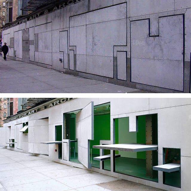 ARCHI-NAUTA. Sailing on Arts, Design, Architecture: Urban scene: N.Y. DYNAMIC WALL!