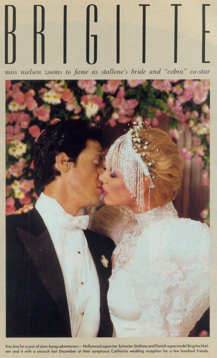 sylvester stallone & brigitte nielsen, august 1986                                                                                                                                                      More