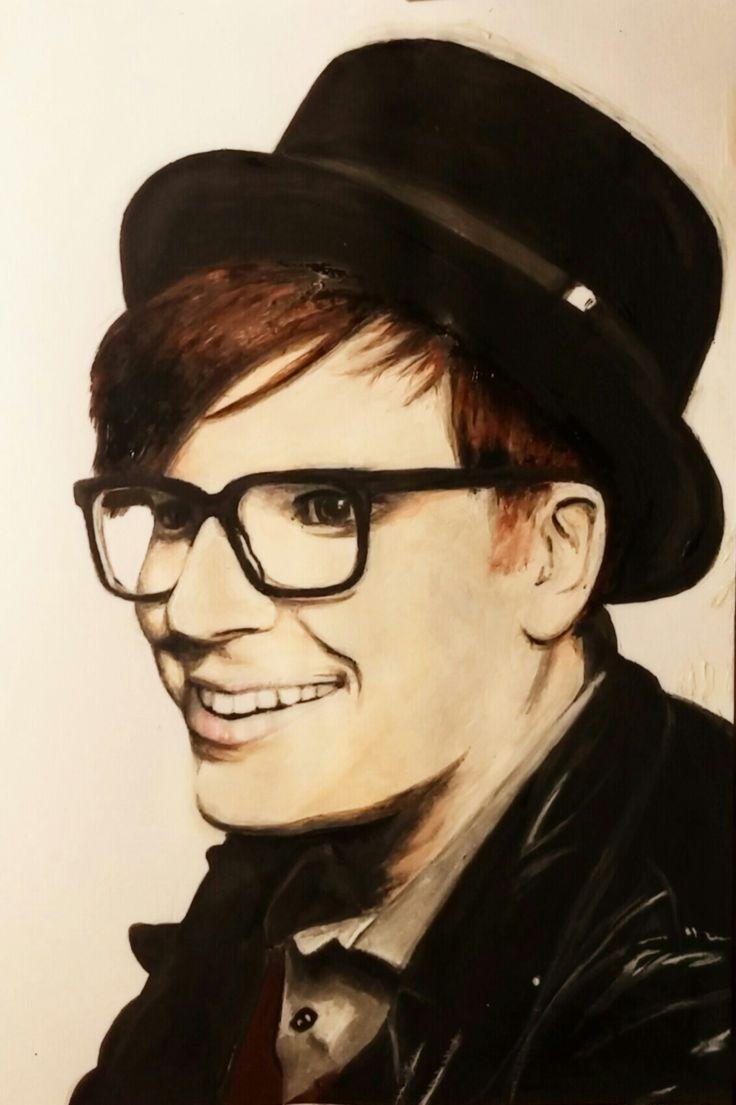 Patrick Stump paint portrait