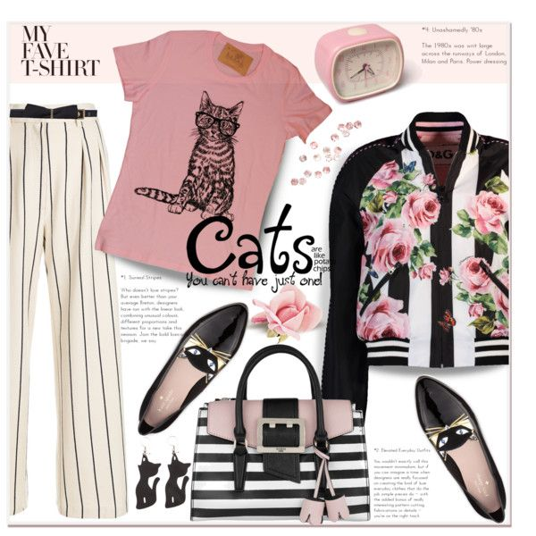 A fashion look from January 2018 featuring Dolce&Gabbana jackets, Erika Cavallini Semi-Couture pants y Kate Spade shoes. Browse and shop related looks.