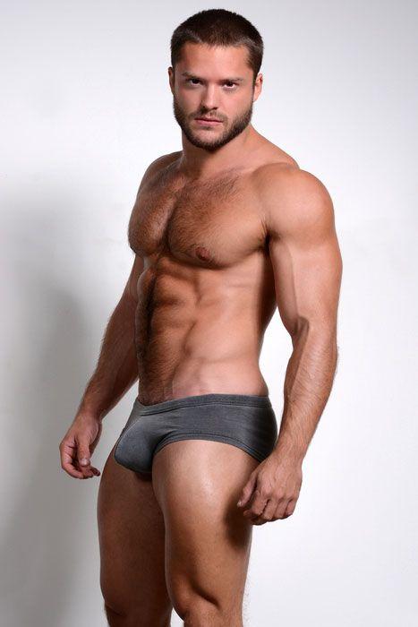 Gay.net - Saul Harris & DW Chase Slip Into N2N Bodywear