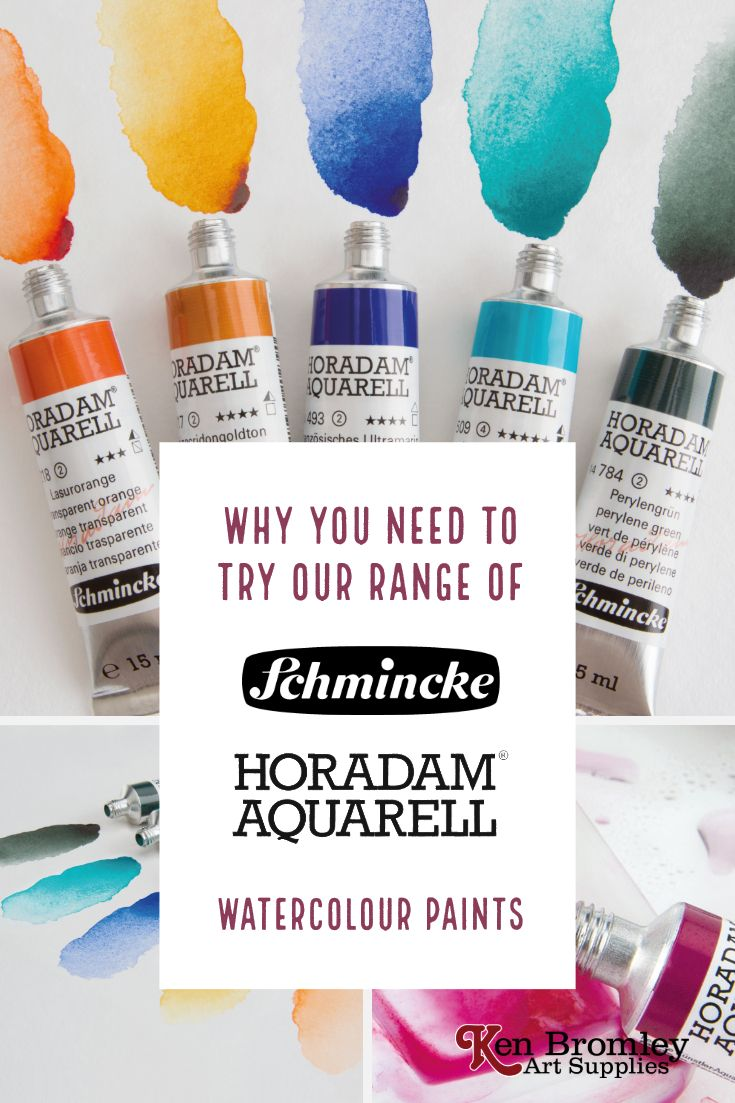 Why You Need To Try Our New Range Schmincke Horadam Watercolours