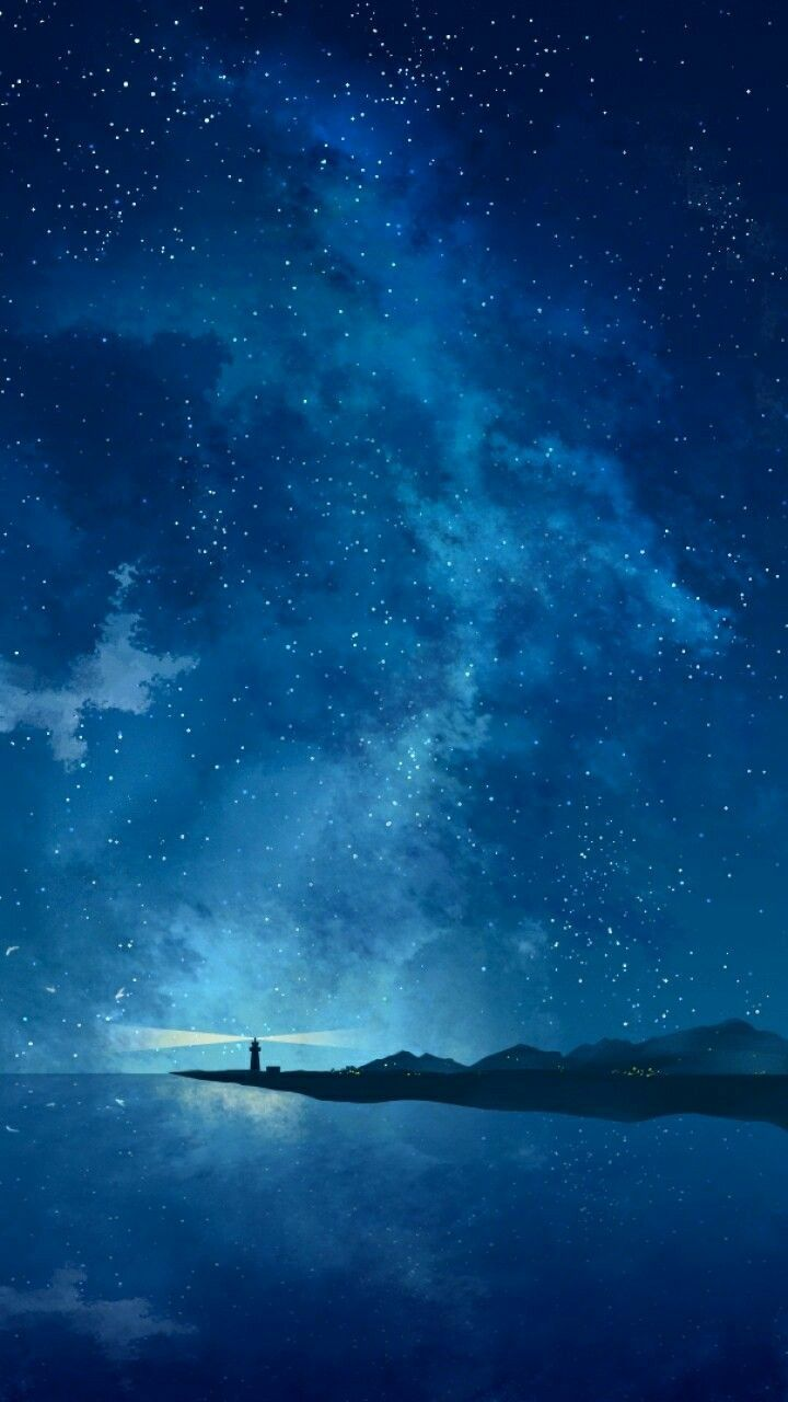 Best Iphone X Wallpapers Backgrounds Hd 4k Funmary Night Sky Wallpaper Anime Scenery Scenery